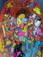 Santa Cruz Jeff Grosso Toybox red version reissue skateboard deck