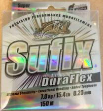 Sufix DuraFlex Precision Performance Monofilament Fishing Line 150m