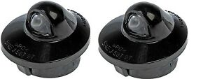 Pair of Dorman 68163 License Plate Light Lenses Fits Ford Trucks #F37Z-13550-AA