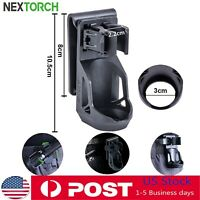 """NEXTORCH 360° Tactical Flashlight Holster Pouch Angle For 1""""-1.25"""" Torch Holder"""