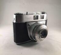 #683Kodak Retinette1A 35mm Film Camera with schneider-kreuznach reomar 50mm f3.5