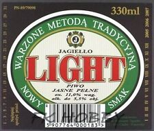 Poland Brewery Pokrówka Light Beer Label Bieretikett Etiqueta Cerveza pk5.4