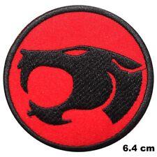 Thundercats Cartoon Film Logo Noir Lion Brodé à Repasser Patch T-Shirt Badge