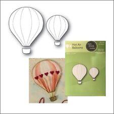 Poppystamps metal dies Hot Air Balloons cutting die 2026