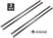 """12-1/2"""" inch Planer Blades Knives for Delta 22-560 planer, 22-562 (2 Sets)"""