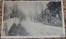 R.R. AVE., LOOKING WEST, CENTRE VALLEY, PA RAILROAD AVE., CENTER VALLEY, PA. PC