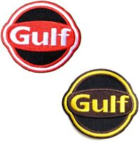 Patch Iron on for Shell Oil Gasoline Pump Racing Car Pump F1 Motorgp Sign Logo