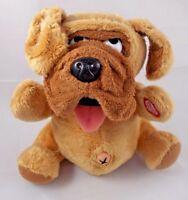 """HugFun Puppy Dog Plush Barks & Vibrates 8"""" Tall Stuffed Animal"""