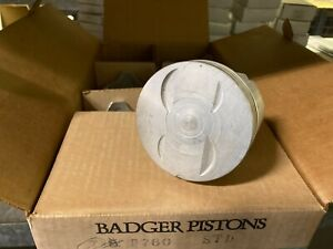 (7) Badger Pistons Standard Ford Car & Truck v-8 255 4.2L 1980-82 NOS USA