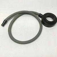 "Volpi 10530.003 Fiber Optic Microscope Ring Light, 50mm ID, 66mm Mount, 36"" L"