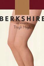 Berkshire Sheer Leg Invisible Toe Thigh-Hi Ivory Stockings Size A-B