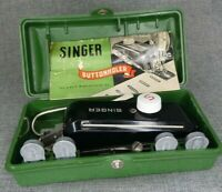 Orig SINGER Buttonholer Attachment 160506 Box Instructions Featherweight SN207