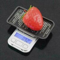 Mini Digitalwaage 0.01g 200g tragbare elektronische Schmuckwaage LCD J5G1 N T5Q4
