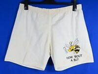 RARE BAREN JAGER Honey Liqueur VTG NOVELTY SHORTS How 'bout a BJ? BEE BARENJAGER