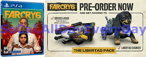 Far Cry 6 with PRESALE Bonus Content Pack! (PlayStation 4, Physical) >>Oct 7 ps4