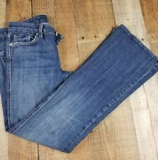 Seven For All Mankind 'A' Pocket Women's Jeans, Size 26 Inseam 28