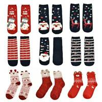 Ladies Soft Fluffy Cosy Bed Socks Kids Unisex Winter Warm Christmas Gift Casual
