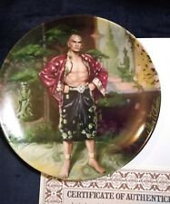 """The King and I """"A Puzzlement"""" Collector's Plate with Coa"""