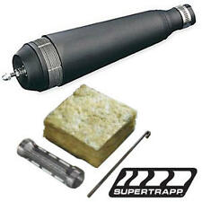 "SuperTrapp Clamp On 4-Stroke Exhaust Muffler Kit - Black - 1-1/2"" ID"