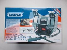 Draper Mini Bench Grinder with Flexible Drive Shaft 06498