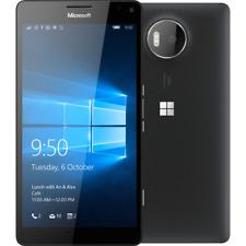 NUOVO Microsoft LUMIA 950XL NERO DUAL SIM 4G 32GB 20MP Wifi smartphone sbloccato