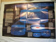 JOURNEY INTO THE UNIVERSE MAP National Geographic June 1983
