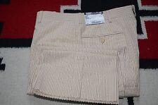 Polo Ralph Lauren Made in Italy Preston 100% Cotton Seersucker Dress Pants 32