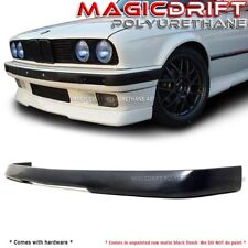 84-92 BMW E30 3-SERIES LOWER VALANCE VIP RG STYLE FRONT BUMPER LIP SPOILER
