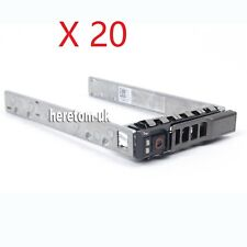 "20PCS Dell 2.5"" HDD Tray Caddy 13 Gen 8FKXC PowerVault MD1220 MD3220 MD3420 3620"