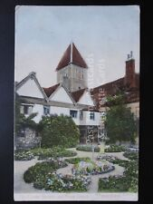 Kent: Faversham, The Cloister Garden and Priory Church c1906 - Pub by Stengel