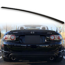Painted TrunkLip Spoiler For Mazda Mx5 Miata 89-09 Roadster NN Standard Black