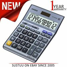 Casio Desk Calculator with Tax & Euro Calculations Analog Luminous Hand DF120TER
