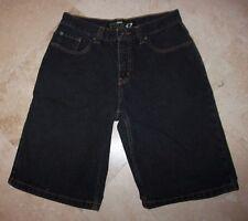 Men's ANCHOR BLUE 5-Pocket Baggy Black Denim Shorts - Size 30
