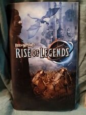 Rise of Nations Rise of Legends Two Part Manual Instruction Set for PC Game