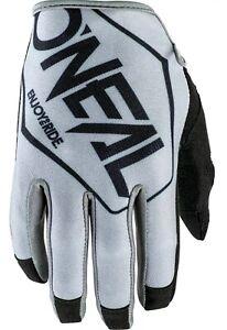 O'Neal Mayhem Rider MTB Bike Gloves MEDIUM Grey