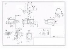 8020 8020 Equivalent 14 Turn Panel Mount Block 45 Series 10mm Slot 14140