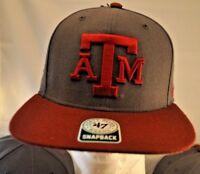 NWT Texas A&M Aggies Adult Snapback Hat TAMU 47 Sure Shot Captain Snapback