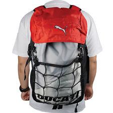 Original Ducati Lite Backpack Motorcycle Bikers Sport Hiking Grey&Red Sports Bag