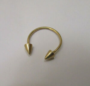 Open Arrow Spike Thin Stacking Ring! Gold Filled Delicate Band Pretty Jewelry