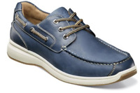 Florsheim Great Lakes Moc Toe Oxford Boat Shoes Indigo 13319-401