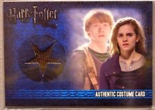 Harry Potter-Rupert Grint-Ron Weasley-DH Pt1-Authentic-Movie-Costume Card
