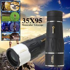 35X95 Zoom WA HD Telescopio Óptico Monocular Vision nocturna Alcance Ajustable