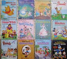 Little Golden Books x 12 ~ Walt Disney titles