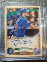 2019 Topps Gypsy Queen Autograph David Bote Chicago Cubs