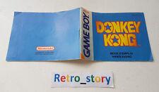 Nintendo Game Boy Donkey Kong Notice / Instruction Manual