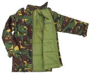 DESERT CAMO COMBAT PADDED JACKET boy 11-12 British army camouflage soldier coat