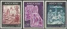 Timbres Arts Andorre 184/6 ** lot 17376