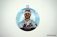 2020 Topps Holiday Ornament Pete Alonso - Wal-Mart Mega Exclusive New York Mets