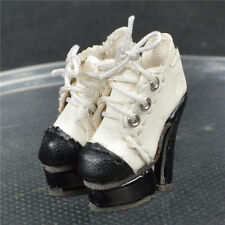 "White Shoes/Boots for 12"" Fashion Royalty Agnes  Poppy Parker DG Momoko FR2 doll"