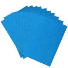 10pcs A4 Glitter Craft Cardstock 6 Colors Options Scrapbooking Card Making Sheet Sky-blue